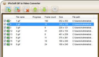 iPixSoft GIF to Video Converter 3.2.0 - GIF转视频软件